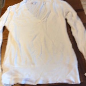 New York and company V-neck sweater off white